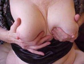 Reife Frau ficken und Titten kneten